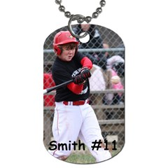 Lcc Dog Tag Smith By Teres Smith    Dog Tag (two Sides)   K56s1xhwm8y0   Www Artscow Com Front