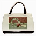 Grandmother tote, 1 side, template - Basic Tote Bag
