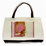 Friends/Oriental tote, 1 side, template - Basic Tote Bag