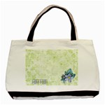 Memories tote, 1 side, template - Basic Tote Bag