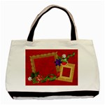 Strawberry tote, 1 side, template - Classic Tote Bag