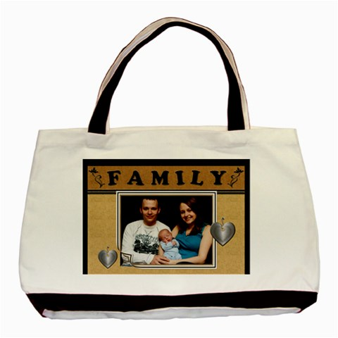 Family Love Classic Tote Bag By Lil    Basic Tote Bag   Cxxrrp64gx01   Www Artscow Com Front