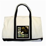 Spring Fling 2 tone tote bag - Two Tone Tote Bag