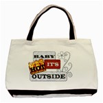 Baby It s Hot Outside Classic 2-Sided Tote - Basic Tote Bag (Two Sides)