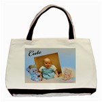 Baby boy Nappy tote bag - Basic Tote Bag