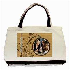 Friend Classic 2 Sided Tote Bag By Lil    Basic Tote Bag (two Sides)   70h15nujz7y5   Www Artscow Com Front
