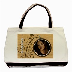 Friend Classic 2 Sided Tote Bag By Lil    Basic Tote Bag (two Sides)   70h15nujz7y5   Www Artscow Com Back