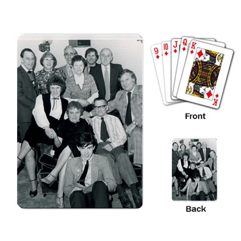 Family By Patricia Plunkett   Playing Cards Single Design   Iok18ug66skf   Www Artscow Com Back