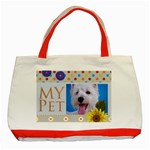 my pet - Classic Tote Bag (Red)