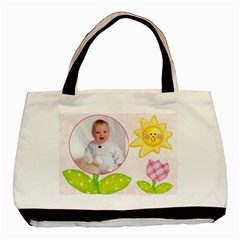Sweet Nothings Baby Girl Double Sided Tote By Catvinnat   Basic Tote Bag (two Sides)   Mo99tjolpzgi   Www Artscow Com Back