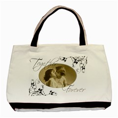 You & Me, Together Forever Double Sided Tote Bag By Catvinnat   Basic Tote Bag (two Sides)   Lb81tbufvi3i   Www Artscow Com Front