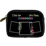 I live for moments like these - Digital Camera Leather Case