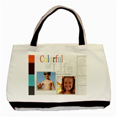 Color Life By Joely   Basic Tote Bag (two Sides)   Rlg9o3q3lefw   Www Artscow Com Front