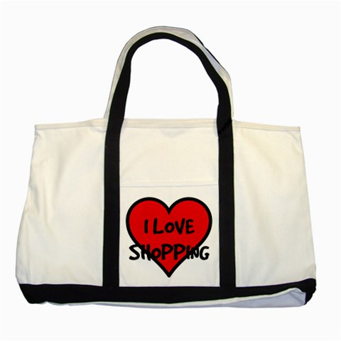 Shopping Bag By Bags n Brellas   Two Tone Tote Bag   Fh6t9w2jf03y   Www Artscow Com Front