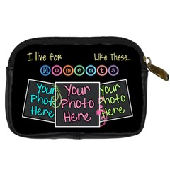 I Live For Moments Like These [digital Camera Leather Case By Digitalkeepsakes   Digital Camera Leather Case   Lfbi84yn1efy   Www Artscow Com Back