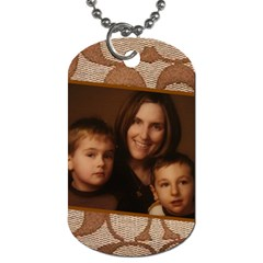 Coach Tags 2 By Randi L  Stanley   Dog Tag (two Sides)   T2zs51lhye3w   Www Artscow Com Back