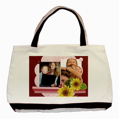 Mothers Day By Wood Johnson   Basic Tote Bag   Qy8rqdcewkz1   Www Artscow Com Front