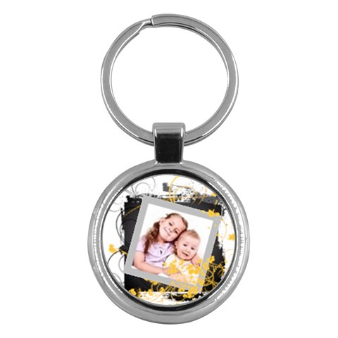 Kids By Wood Johnson   Key Chain (round)   21zdptai5a7a   Www Artscow Com Front