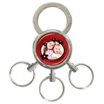 Flower - 3-Ring Key Chain