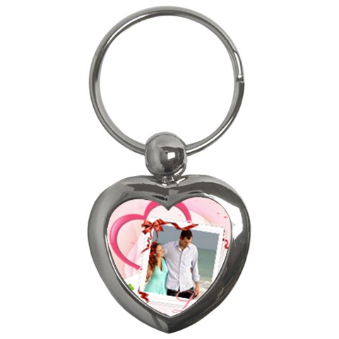 Love By Wood Johnson   Key Chain (heart)   7zh3a1uh2i93   Www Artscow Com Front
