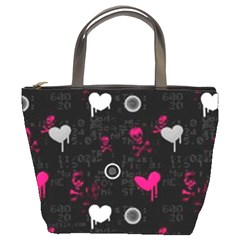 Pink Skull6 Bucket Bag By Bags n Brellas   Bucket Bag   Ckuswlkxiflu   Www Artscow Com Front