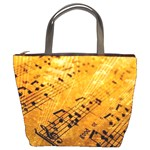 sheet music3 bucket bag