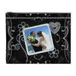 Pretty Diamond Love Cosmetic Bag - Cosmetic Bag (XL)