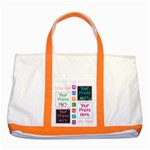 I live for moments like these- Large tote - Two Tone Tote Bag