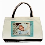 Baby Boy Blue Classic Tote Bag - Basic Tote Bag (Two Sides)