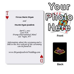 Wedding Invites By Teresa Bryan   Playing Cards 54 Designs   Ug0hkuf879ku   Www Artscow Com Front - Joker2