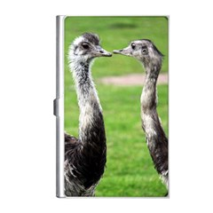 Ostrich Pair Business Card Holder by photogiftanimaldesigns