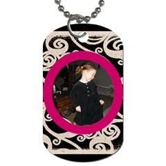 Kassie By Jolene   Dog Tag (two Sides)   Gtzstp8ggr55   Www Artscow Com Back