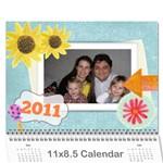 calendar2011mama - Wall Calendar 11  x 8.5  (12-Months)