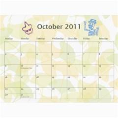 Calendar2011mama By Ludmil Totev   Wall Calendar 11  X 8 5  (12 Months)   Akfdy8jyzc78   Www Artscow Com Oct 2011