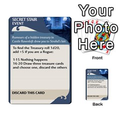 Named Tiles 1 By Ninjadorg   Multi Purpose Cards (rectangle)   6b9rn92ixm8j   Www Artscow Com Front 25