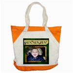 Sun Sun Fun! Accent Tote Bag