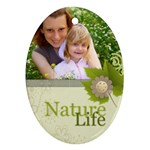 Nature Life - Ornament (Oval)