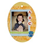 ABC kids - Ornament (Oval)