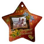 Magical Moment Starburst Star Ornament - Ornament (Star)