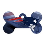 Patriots - Dog Tag Bone (One Side)