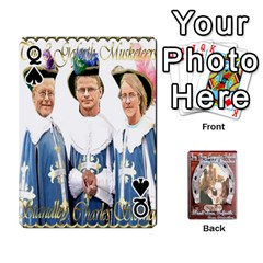 Queen Steohen & Pamelas Cards  By Pamela Sue Goforth   Playing Cards 54 Designs   Rjq0zdgdkbnb   Www Artscow Com Front - SpadeQ