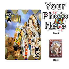 King Steohen & Pamelas Cards  By Pamela Sue Goforth   Playing Cards 54 Designs   Rjq0zdgdkbnb   Www Artscow Com Front - SpadeK