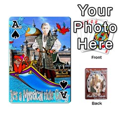 Ace Steohen & Pamelas Cards  By Pamela Sue Goforth   Playing Cards 54 Designs   Rjq0zdgdkbnb   Www Artscow Com Front - SpadeA