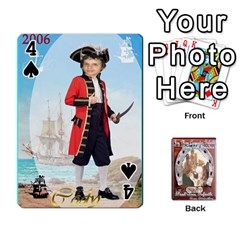 Steohen & Pamelas Cards  By Pamela Sue Goforth   Playing Cards 54 Designs   Rjq0zdgdkbnb   Www Artscow Com Front - Spade4