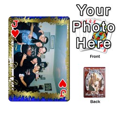 Jack Steohen & Pamelas Cards  By Pamela Sue Goforth   Playing Cards 54 Designs   Rjq0zdgdkbnb   Www Artscow Com Front - HeartJ