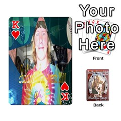 King Steohen & Pamelas Cards  By Pamela Sue Goforth   Playing Cards 54 Designs   Rjq0zdgdkbnb   Www Artscow Com Front - HeartK