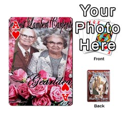 Ace Steohen & Pamelas Cards  By Pamela Sue Goforth   Playing Cards 54 Designs   Rjq0zdgdkbnb   Www Artscow Com Front - HeartA