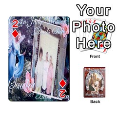 Steohen & Pamelas Cards  By Pamela Sue Goforth   Playing Cards 54 Designs   Rjq0zdgdkbnb   Www Artscow Com Front - Diamond2