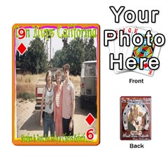 Steohen & Pamelas Cards  By Pamela Sue Goforth   Playing Cards 54 Designs   Rjq0zdgdkbnb   Www Artscow Com Front - Diamond9