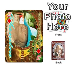 Jack Steohen & Pamelas Cards  By Pamela Sue Goforth   Playing Cards 54 Designs   Rjq0zdgdkbnb   Www Artscow Com Front - DiamondJ